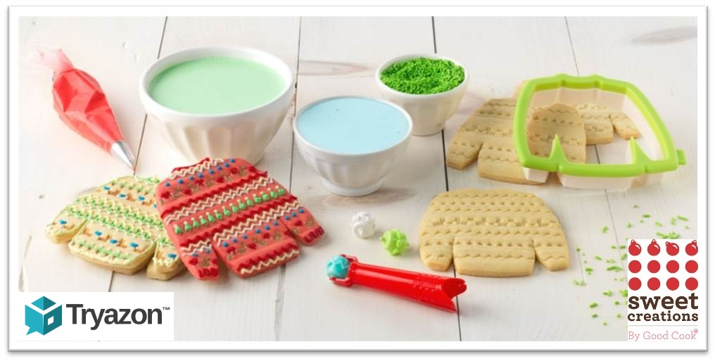 dec 4 5 2015 ugly christmas sweater cookie party - Christmas Cookie Cutters Walmart