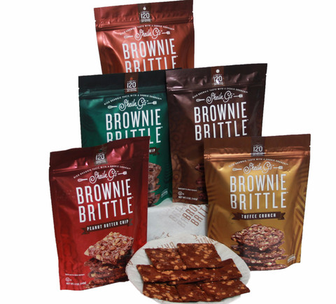 Brownie Brittle Holiday Party