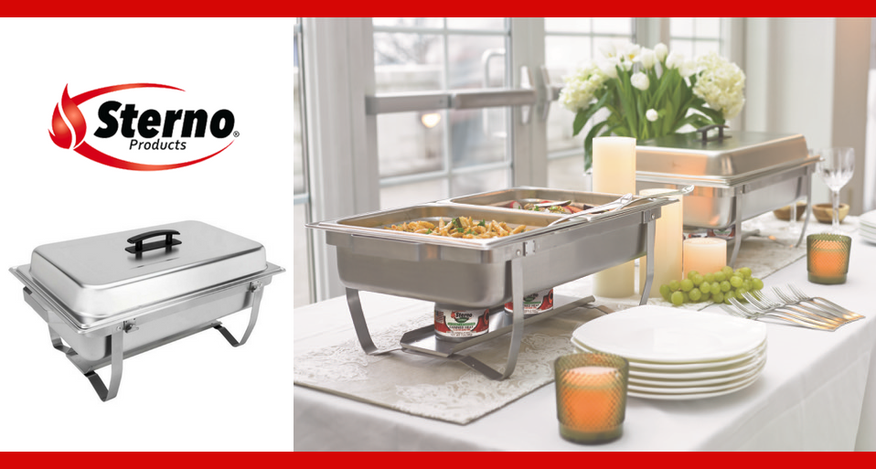 sterno home buffet party tryazon rh tryazon com sterno buffet servers Sterno Pans Size