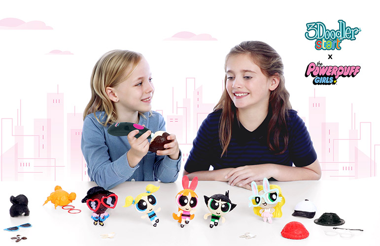 <small>3Doodler Powerpuff Yourself Party</small>