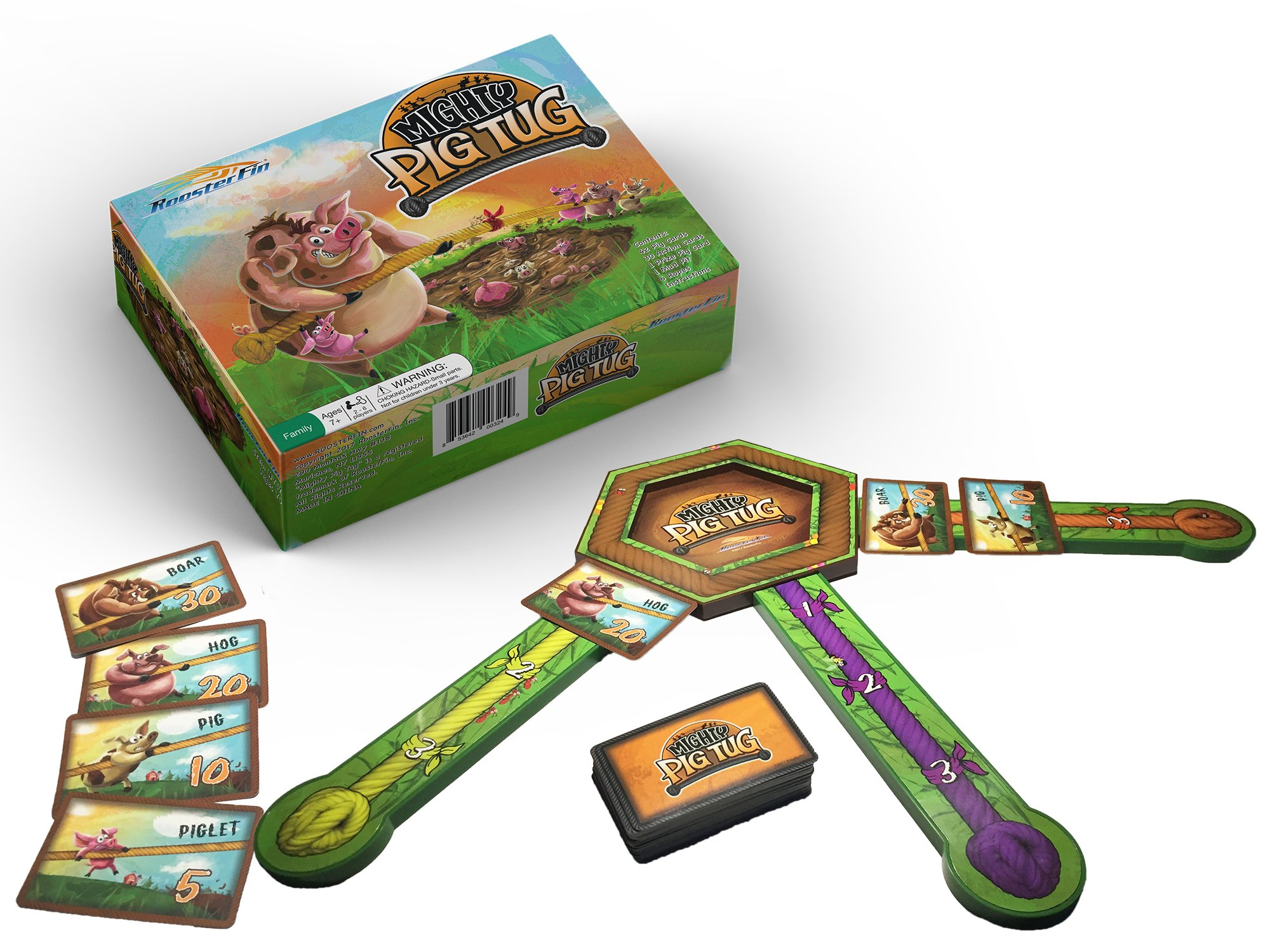 <small>RoosterFin Summer Game Night Pack </small>