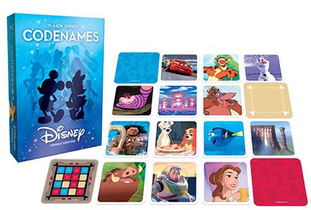 <small>CODENAMES Disney & Marvel Game Night</small>