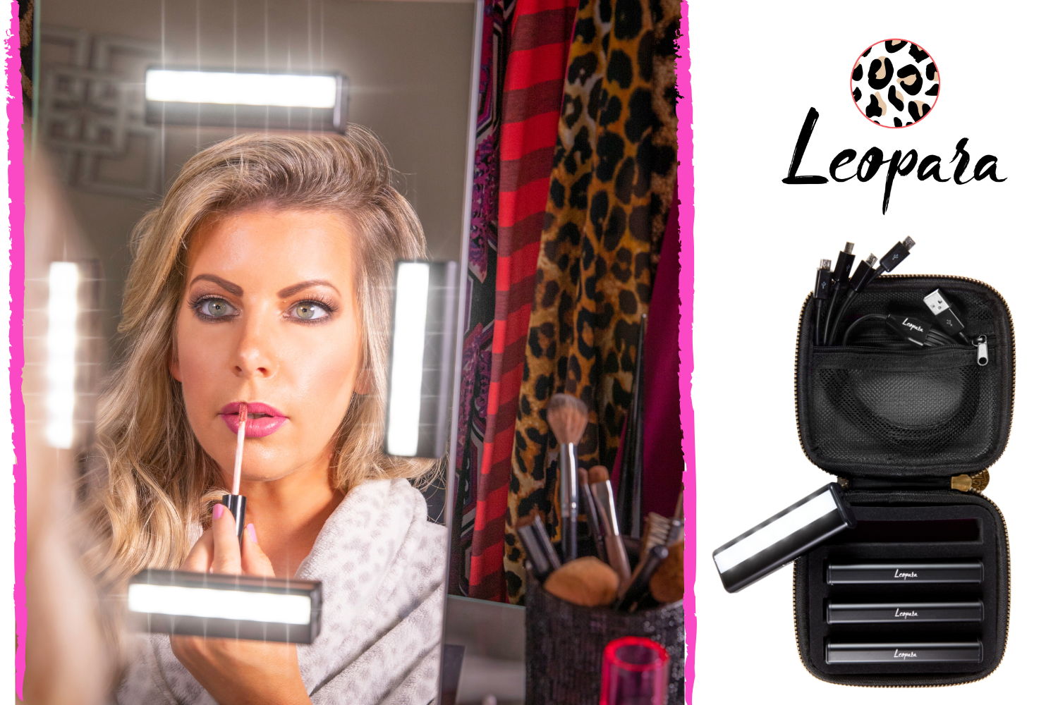 <small>Leopara Makeup Lighting System</small>