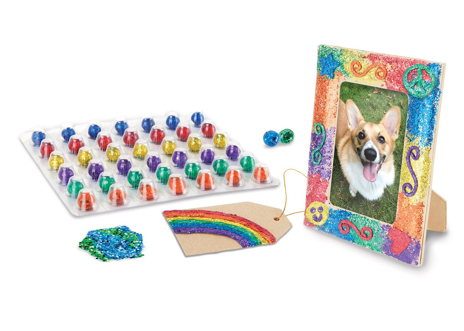 <small>Crayola Glitter Dots Party</small>