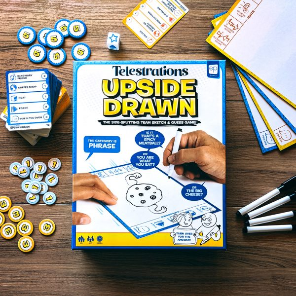 <small>Telestrations®: Upside Drawn Game Night</small>