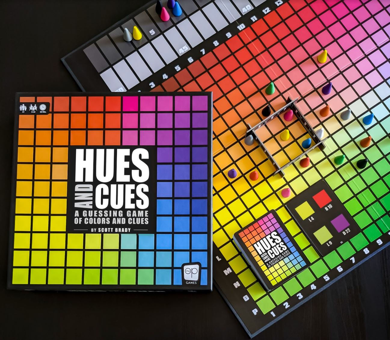 <small>Hues and Cues Game Night</small>