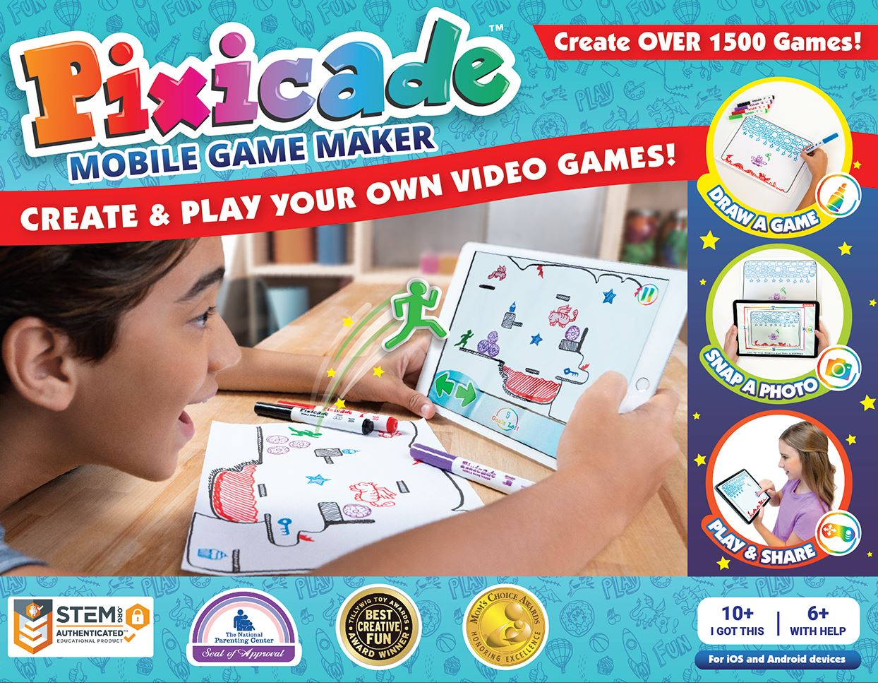 <small>Pixicade Video Game Maker Party</small>