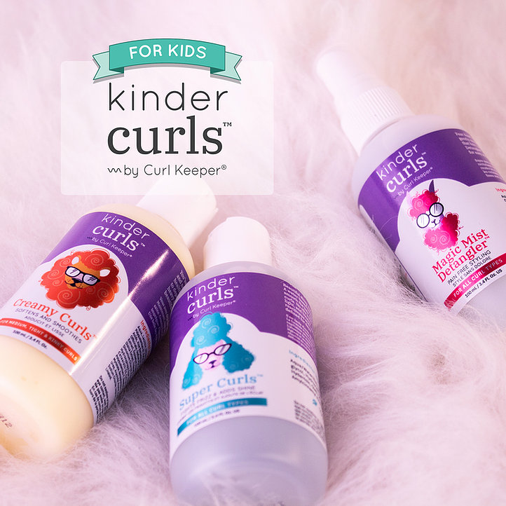<small>Kinder Curls Mommy and Me Curl Time</small>