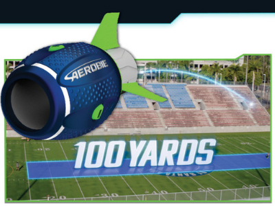 <small>Aerobie Football - Air it Out! Party</small>