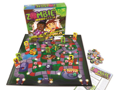<small>Zombie Chase Game Night Party</small>